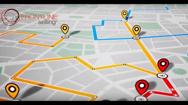 frontline selling sales enablement software