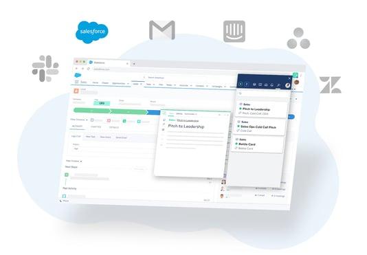 guru sales enablement software
