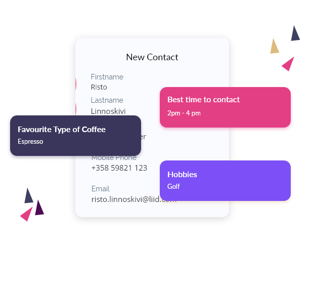 Add custom fields to your contacts