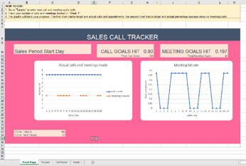 sales call tracker image